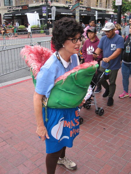 Little Shop of Horrors cosplay. The most original cosplay I've seen so far during 2019 San Diego Comic-Con!