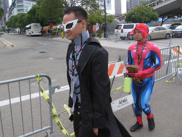 Super powered folk seem to be everywhere during Comic-Con!