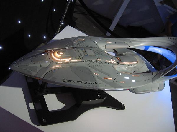 Model of the USS Orville (ECV-197).