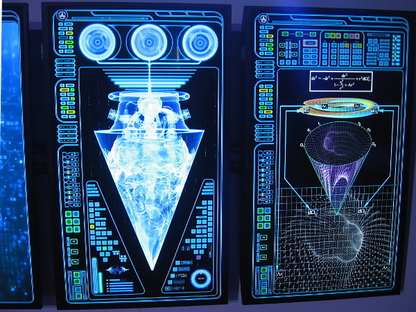 Display panels on The USS Orville.