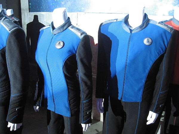 Uniforms worn aboard The USS Orville.