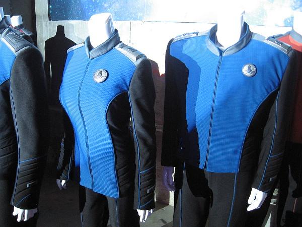 Uniforms worn aboard The USS Orville.