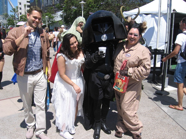 Spaceballs cosplay! I gotta watch that great movie again.