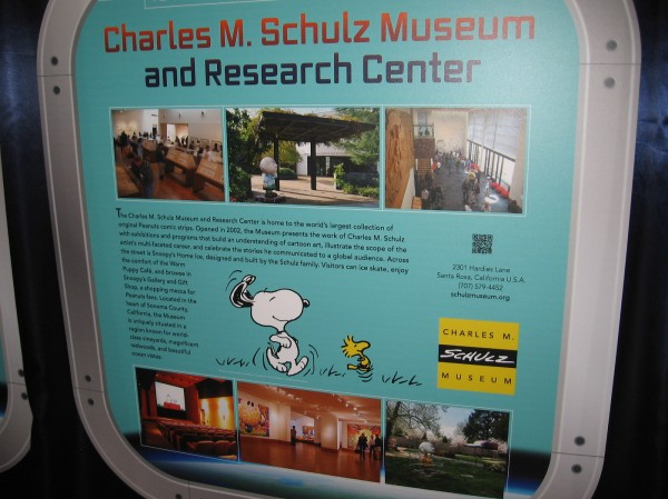 The Charles M. Schulz Museum and Research Center has the world's largest collection of original Peanuts comic strips.