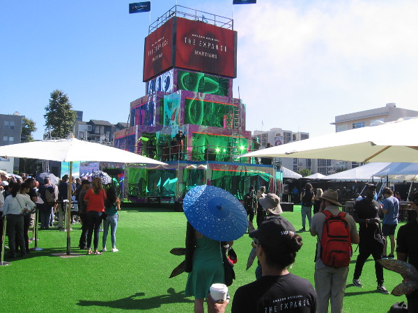 I got into the Amazon activation with ease, but then discovered the attractions within had waits of up to two hours!