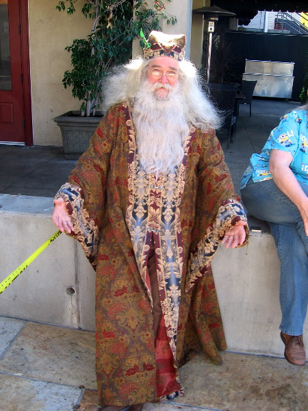 I saw Dumbledore last year, too. I guess rumors of his demise are exaggerated.