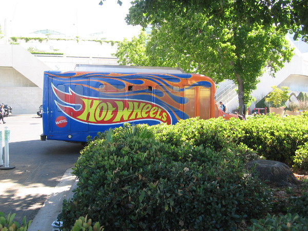 The Hot Wheels truck!