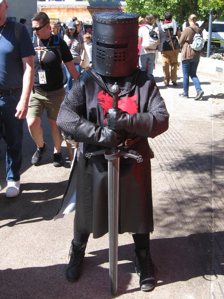 Is this knight from Game of Thrones?