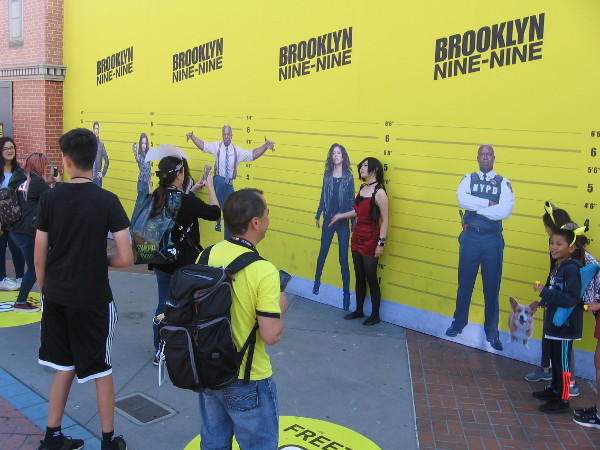 Lots of criminals are lining up at Brooklyn Nine-Nine.