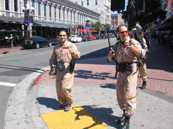 And some Ghostbusters, too.