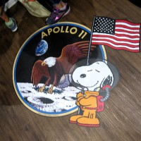 Snoopy soars with NASA on Moon Landing Anniversary!