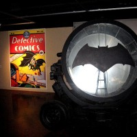 Batman takes over the Comic-Con Museum!