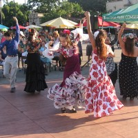 Flamenco dancing at San Diego Museum of Art!
