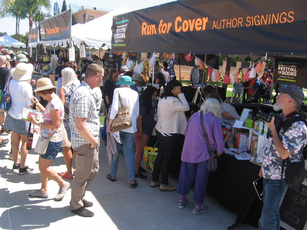 Those who love to read meet those who love to write at the San Diego Union-Tribune 3rd Annual Festival of Books!