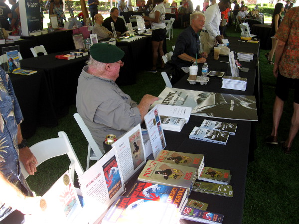 Many local and regional authors showcased their books at the festival.
