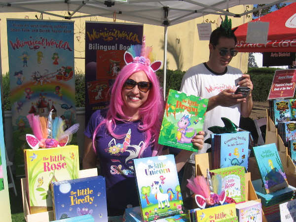 I remember seeing Sheri Fink with her fun Whimsical World children's books during my walks near Seaport Village!