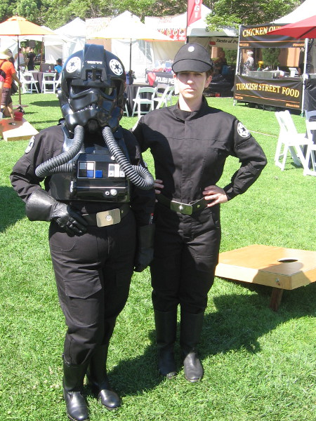 I also enjoyed seeing some cool Star Wars cosplay!