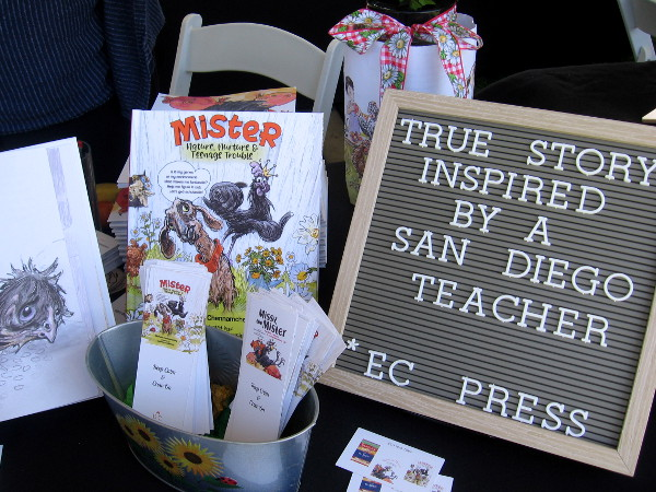 Mister is the true story of a chicken, inspired by a San Diego teacher!