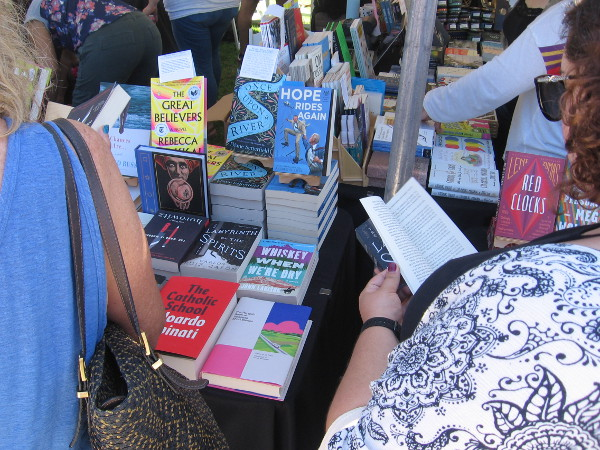 The Festival of Books is an amazing San Diego event where writers and readers meet and share a love for the written word!