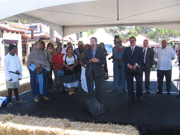 Representatives of many communities come together during Old Town San Diego's Founders Day to celebrate our city's diverse history.