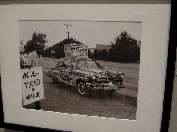 Protest Car, Los Angeles, 1962, Harry Adams.