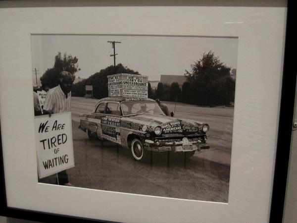 Protest Car, Los Angeles, 1962, Harry Adams.