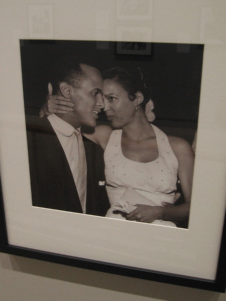 Harry Belafonte and Dorothy Dandridge, stars of Carmen Jones, 1954, Charles Williams.