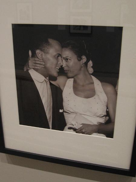 Harry Belafonte and Dorothy Dandridge, stars of Carmen Jones, 1954, Charles Williams.
