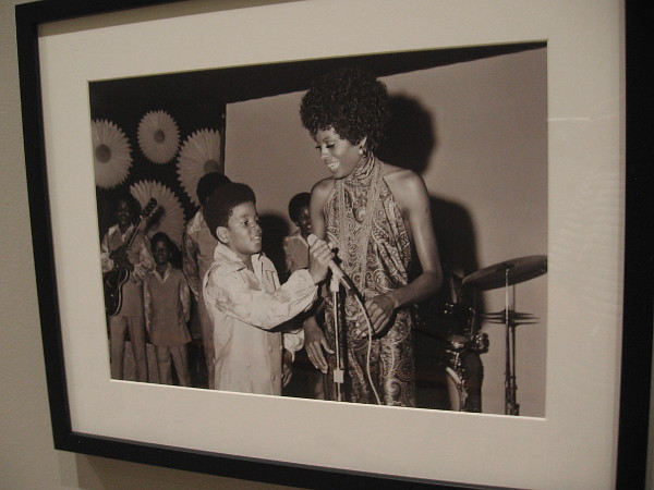 Diana Ross and Michael Jackson, Los Angeles, 1969, Guy Crowder.