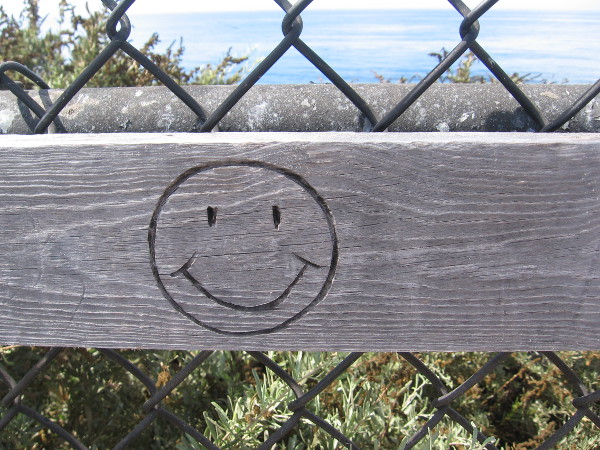 A smiley for a laid-back, sunny day.