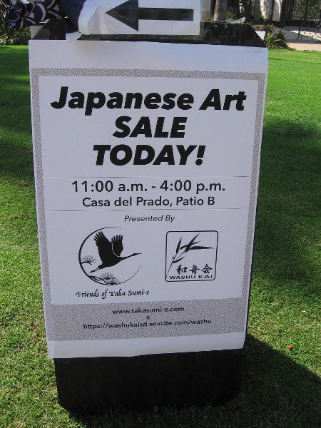 Fall means it's time for the big Japanese Art Sale!