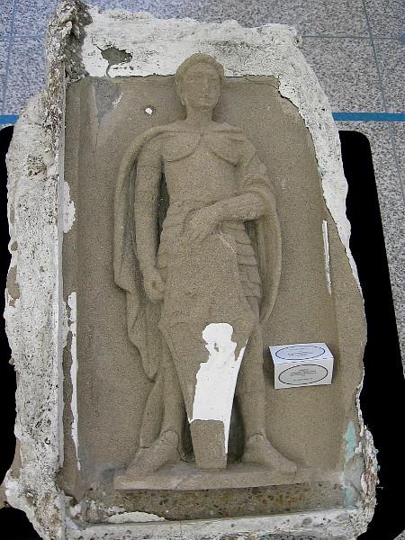 Original concrete figure from San Diego Museum of Art, 1915-1916.