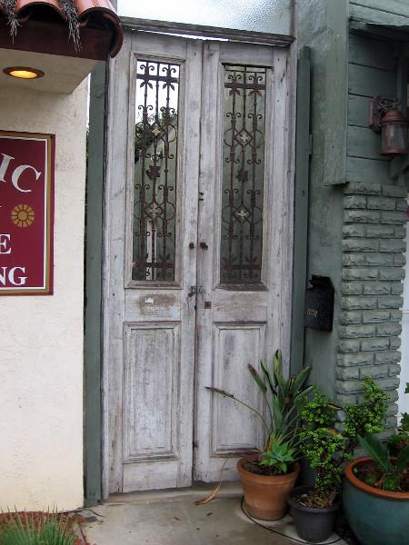 A cool old door.