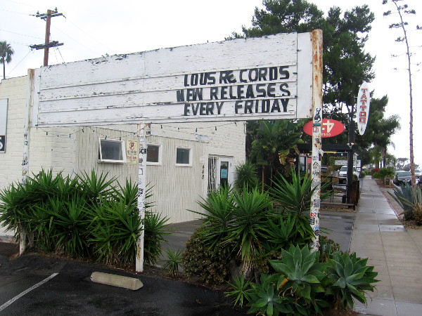 Lou's Records. New releases every Friday.