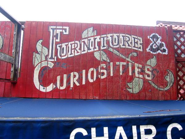 Furniture and Curiosities.