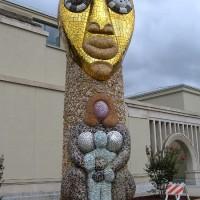 Niki de Saint Phalle's Grande Step Totem.