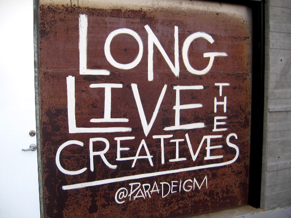 Long Live the Creatives.