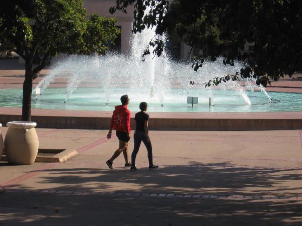 Any walk through Balboa Park is wonderful.