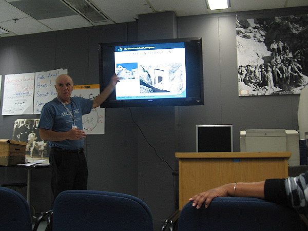 San Diego City Archivist Jerry Handfield describes the importance of accurately recording and carefully preserving critical information.