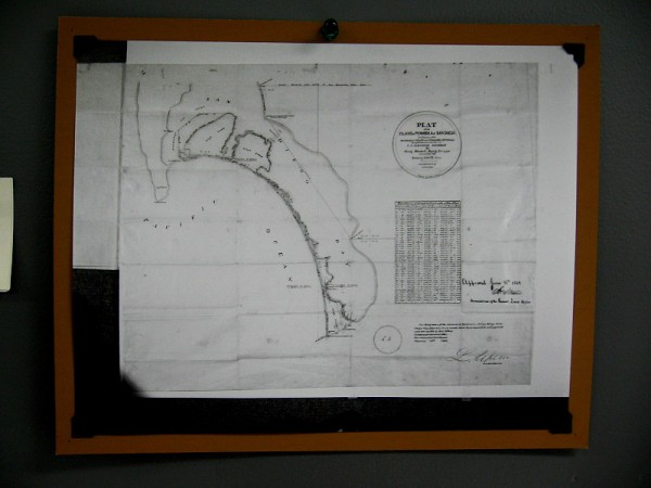 First Official Map of San Diego, June 1867.