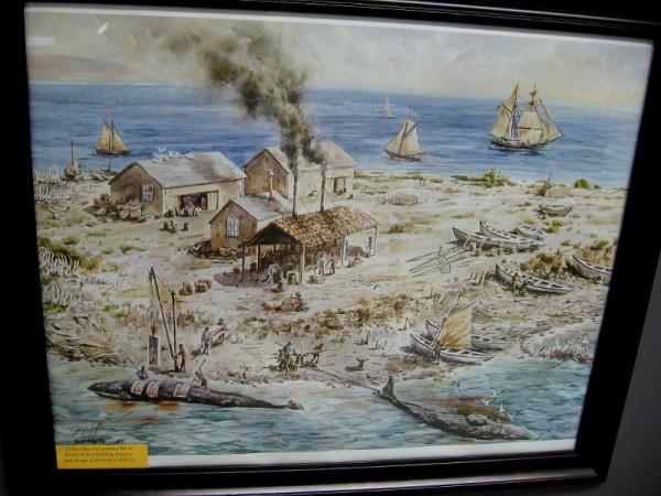 Filner Mayoral Artifact RF-4. Ballast Point Whaling Station, San Diego, California (1820's).