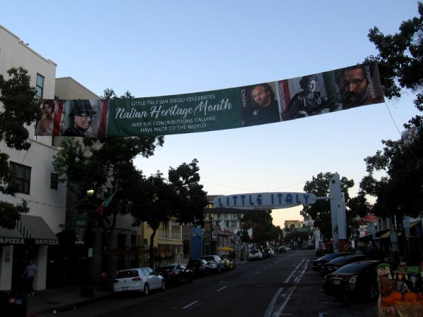 Little Italy San Diego Celebrates Italian Heritage Month and the contributions Italians have made to the world.