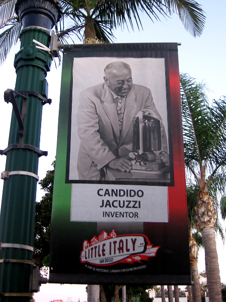 Candido Jacuzzi, inventor.