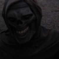 Walking down a dark, spooky Haunted Trail!