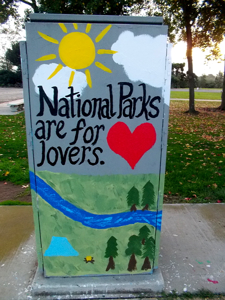 National Parks are for lovers.