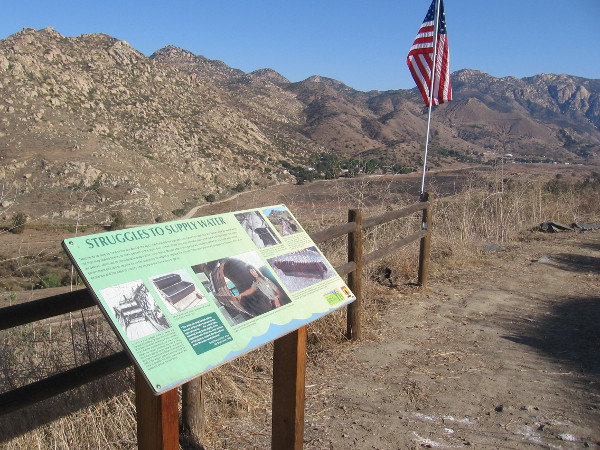 Breathtaking views and unique history can be enjoyed during a hike on the Helix Flume Trail in Lakeside.