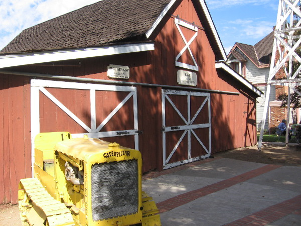 The Penner Barn at Escondido's Heritage Walk.