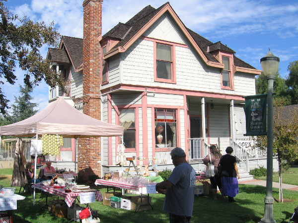 The Victorian House is furnished authentically and open to the public for tours. (I didn't go inside the day I visited.)