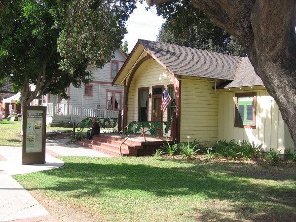 Escondido's original public library is now headquarters for the Escondido History Center.