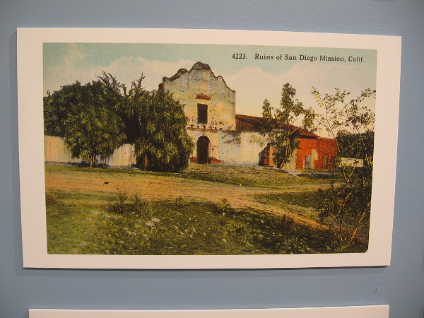 Ruins of San Diego Mission.